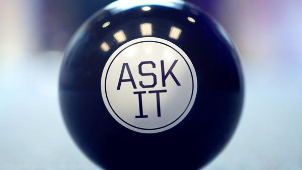 Ask It again speaking