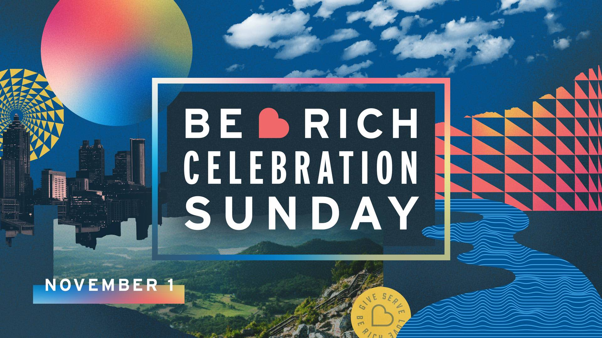 Be Rich Celebration