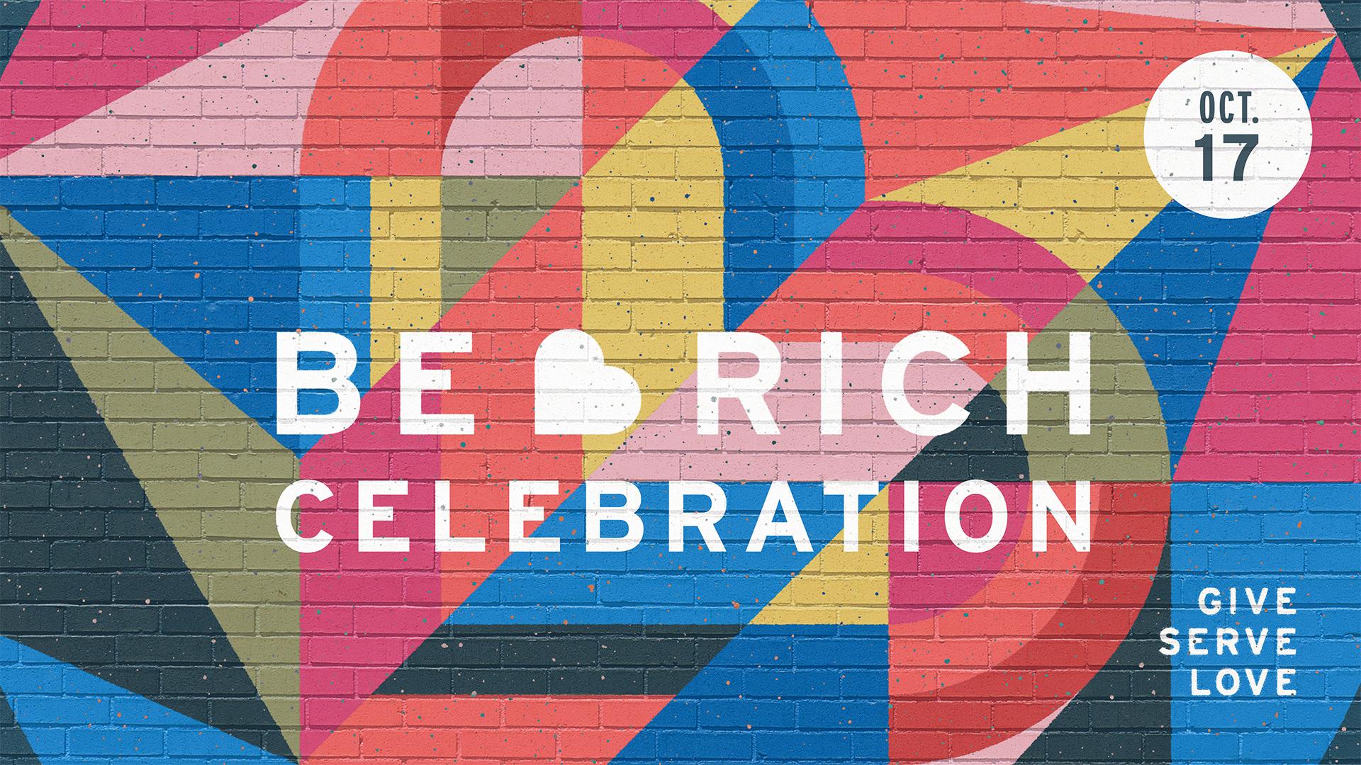 Be Rich Celebration 2021