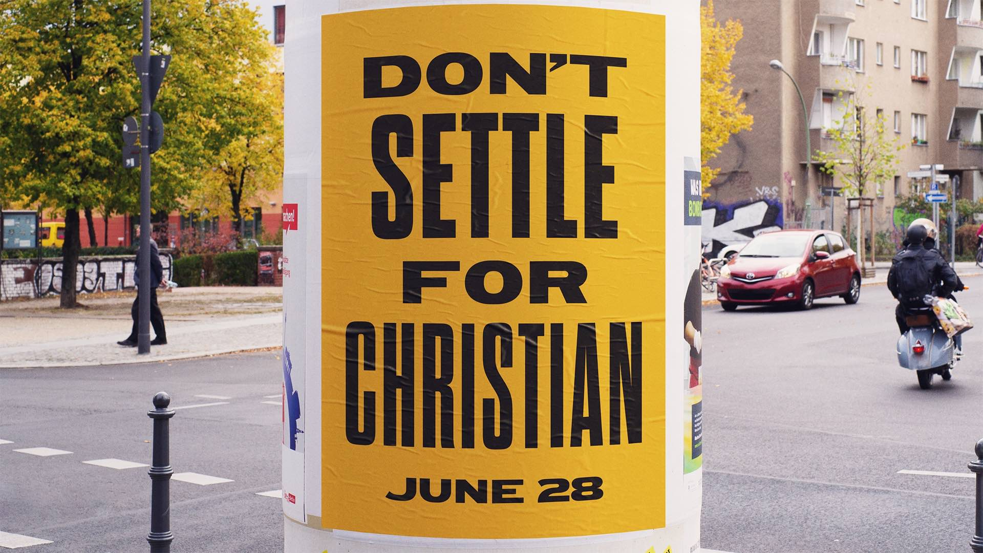 Don't Settle For Christian