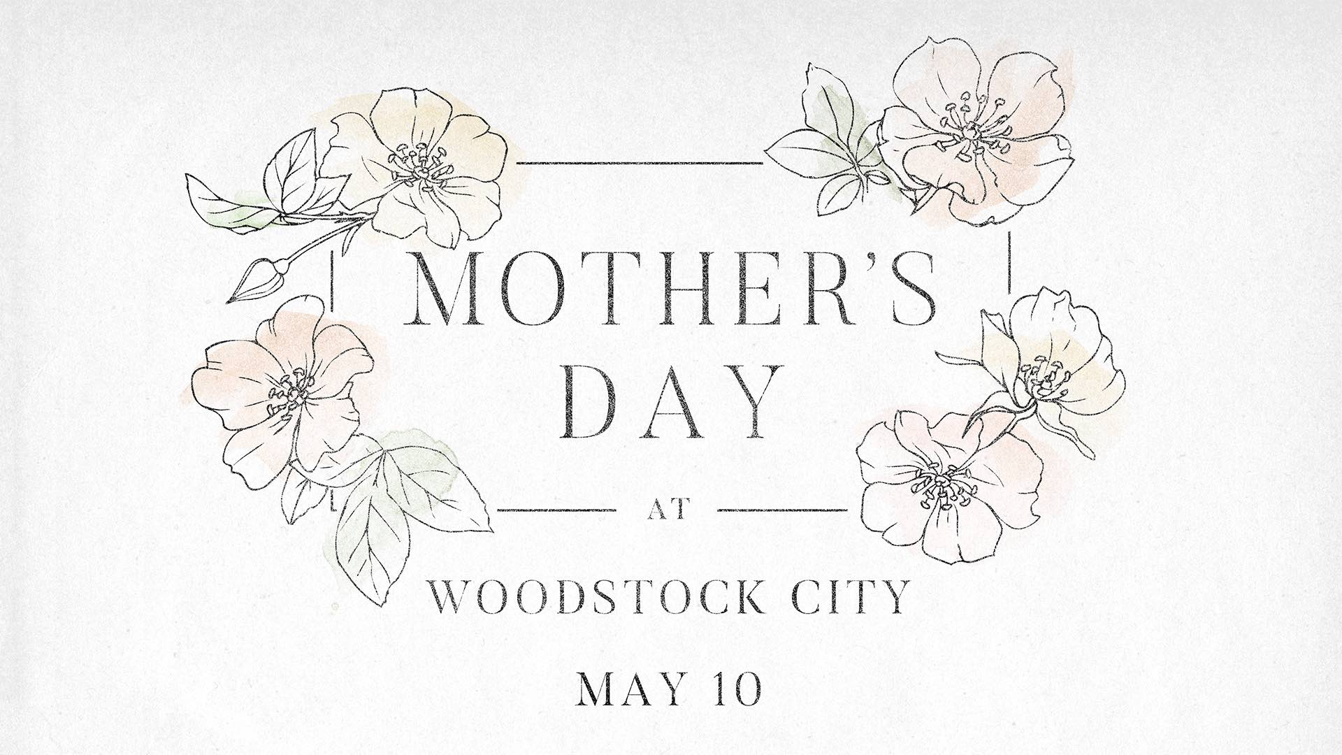 Mother's Day at Woodstock City